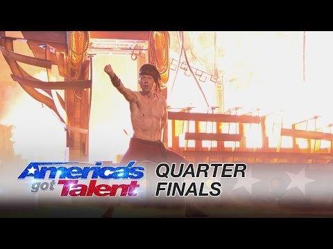 VAATA: Akrobaat Vello Vaher esitas Ameerika talendisaates taas võimsa etteaste!