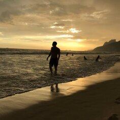 Päikeseloojang Ipanemal