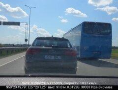 5231b2f30be LUGEJA VIDEO: kui napp saab olla pääsemine kokkupõrkest oma sõidusuunas  vastuvoolu sõitva autoga?