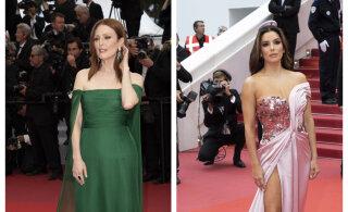 FOTOD | Milline sära ja glamuur: Eva Longoria ja Julianne Moore näitasid Cannes'i filmifestivalil kustumatut ilu