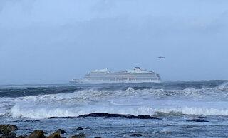ФОТО и ВИДЕО: С круизного судна у берегов Норвегии эвакуируют около 1300 человек