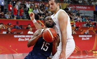 VIDEO   USA korvpallikoondis kaotas MM-il ka Serbiale