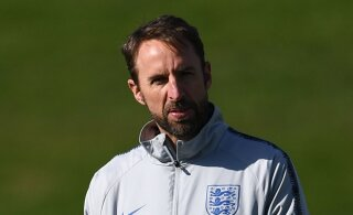 Inglismaa peatreener Southgate Montenegros: meid ootab vaenulik õhkkond