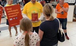 FOTOD | Jüri Ratas aitas vähiravifondi heategevustalgutel annetusi koguda