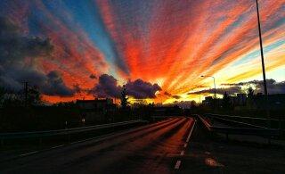 Sahara kõrbe tolm on teel Eestisse, päikeseloojangud saavad lähipäevil olema värvirikkad
