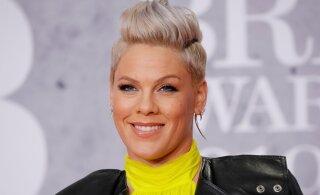 Aitab naljast: lauljanna Pink oma lapsi maailmale rohkem näidata ei kavatse