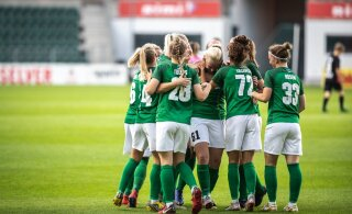 Naiste jalgpalli karikavõistlustel tehakse algust 1/8-finaalidega