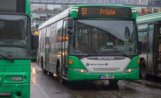 Напоминаем: с понедельника временно изменится маршрут таллиннского автобуса номер 51