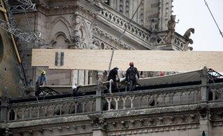 Notre Dame'i saaga pole veel läbi, nüüd ähvardab katedraali vihm