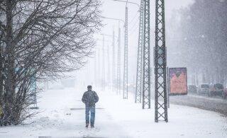 Зима близко. На выходных ожидается первый снег