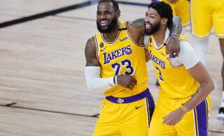 VIDEOD | Lakers alistas Nuggetsi viimase sekundi kolmesest