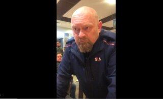 VIDEO   Turvatöötaja ärritus McDonalds'is kliendi peale, solvates teda ebatsensuursete väljenditega