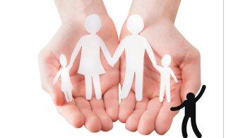 Lapsi on, peresid mitte. Võõra lapse eest vastutuse võtmist ei soosi riik ega omavalitsus