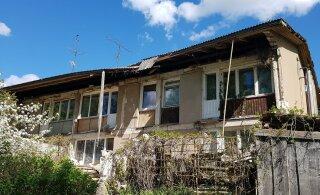 ФОТО: В многоквартирном доме рухнуло три балкона