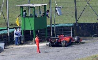 Vettel kokkupõrkest Leclerciga: pole vahet, kelle süü see oli