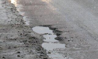 ФОТО: В тяжелой аварии на Таллиннском шоссе погибли два человека