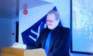 """Назвавший себя в Таллинне """"фашистом"""" зампредседателя молодежной организации """"Истинных финнов"""" покидает свой пост"""