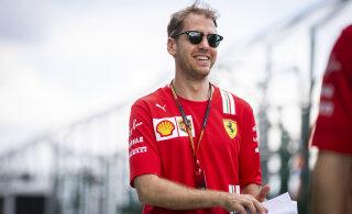 Sebastian Vettel: põrusin Ferraris, sest proovisin nendega tiitlit võita