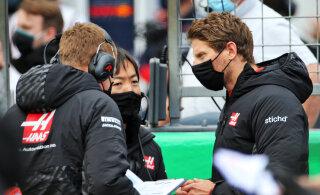 Haasi F1 tiimist välja praagitud Grosjean: meeskonnal on rahad otsas