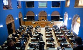 GRAAFIK | Uuest nädalast läheb riigikokku üheksa asendusliiget
