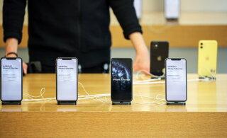 Tuuluta rahakotti: Elisa ja Telia alustasid uute iPhone'ide müüki