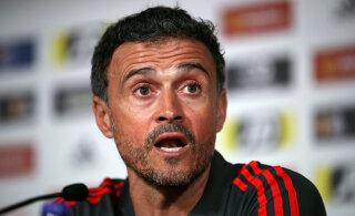 Luis Enrique avaldas Hispaania koondise peatreeneri kohalt lahkumise põhjuse