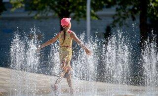 Ilmateenistus: augusti teises pooles võib Eestisse jõuda kuumalaine