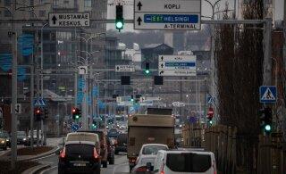 За минувшие сутки в ДТП в Эстонии никто не пострадал