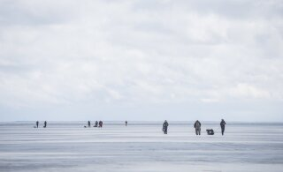 С завтрашнего дня будет запрещен выход на лед большей части Чудского озера