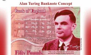 Britid panevad legendaarse teise maailmasõja koodimurdja 50-naelasele