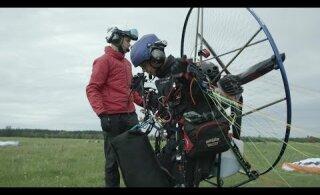 ВИДЕО | Отважный эстонец первым в мире выполнил невероятный трюк в небе