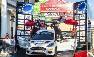 Ken Torn ja Kauri Pannas valmistuvad Rally Estoniaks Lätis