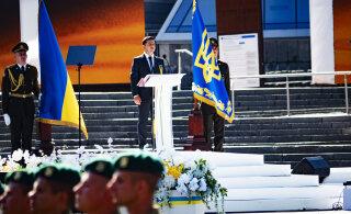 ВИДЕО   День независимости в Киеве: шествие и марш ценой парада