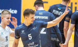 DELFI FOTOD | Saaremaa sai kodus TalTechi üle raske võidu, selgusid poolfinaalpaarid