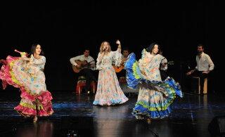 Творческий вечер цыганской песни, музыки и танца 9 августа в уютном Курзале Хаапсалу