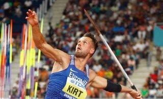 Магнус Кирт пробился в финал чемпионата мира по легкой атлетике