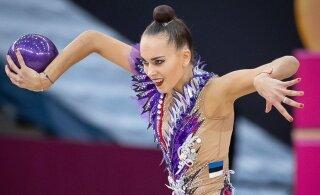Гимнастка сборной Эстонии о бронзовых медалях чемпионата Европы