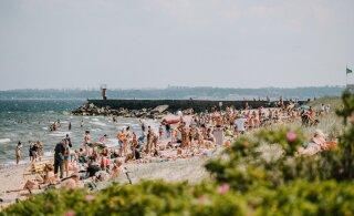 Официально: в июне Эстонию накрыла волна жары