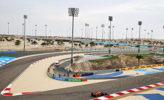 Bahreini GP esimest treeningut valitsesid Mercedesed, Verstappenil probleemid