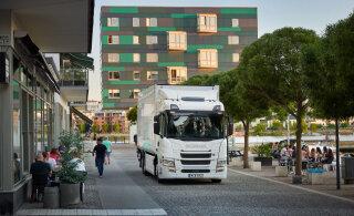 Scania esitles linnakeskkonda sobivaid täiselektrilisi ja pistikuhübriid-veokeid