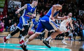 OTSEBLOGI | Kalev/Cramo jätkab Ühisliigat võõrsil peatreenerita jäänud Krasnodari vastu, avapoolaja võitsid võõrustajad