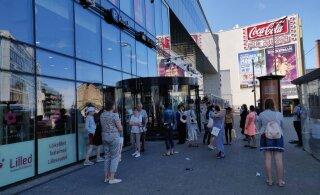 ФОТО: Из Postimaja эвакуировали людей. Возможная причина — авария