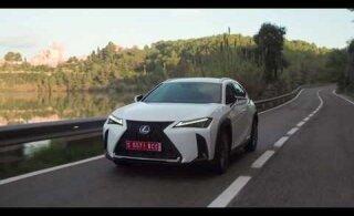 VIDEO | Kompaktne krossover Lexus UX: nii elegantset kindaviset konkurentidele te ei oodanud!