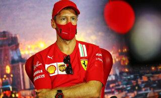 Vettel sõlmib uue meeskonnaga lepingu kahe nädala pärast Belgia etapil