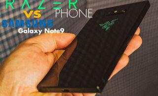 Razer Phone VS Galaxy Note 9