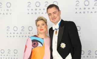 FOTOD | Eksklusiivne muster ja suurlinna energia: Luisa Rõiva kleidil on kujutatud maali