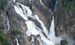ВИДЕО | Австралийские водопады потекли в обратном направлении
