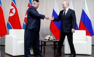 В Приморье начались переговоры Путина и Ким Чен Ына