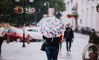 Nädalavahetus tuleb soojem, aga endiselt kallab hooti vihma