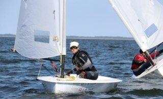 Laser 4.7 klassi Euroopa meistrivõistluste avapäeval jäi eestlaste parimaks 38. koht